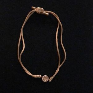 Fossil Jewelry - Fossil adjustable gold bracelet